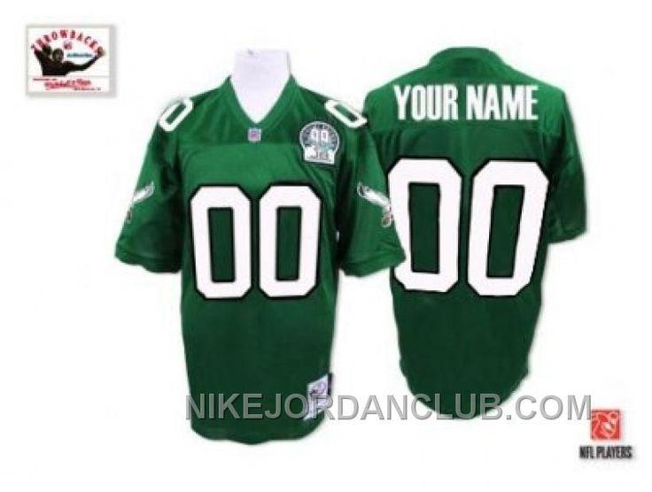 http://www.nikejordanclub.com/customized-philadelphia-eagles-jersey-throwback-super-bowl-green-football-pnwfh.html CUSTOMIZED PHILADELPHIA EAGLES JERSEY THROWBACK SUPER BOWL GREEN FOOTBALL PNWFH Only $60.00 , Free Shipping!