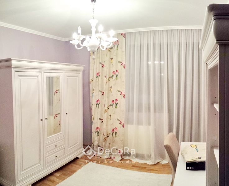 #birds #drapes #kids #room  www.decoradesign.ro