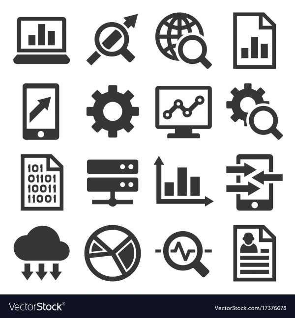 18 Data Analysis Icons Data Icon Data Analysis Data Charts