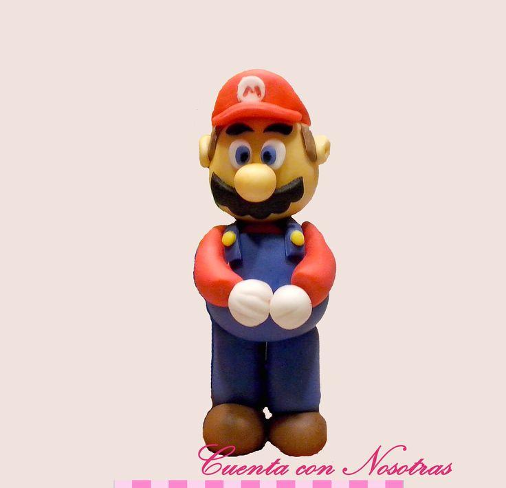 Modelado Mario Bros Mario Bros Fondant
