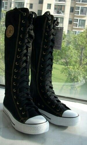 I remember I had these I used to have black high tops well I called them that and I would wear sparkly legging a skirt and those shoes