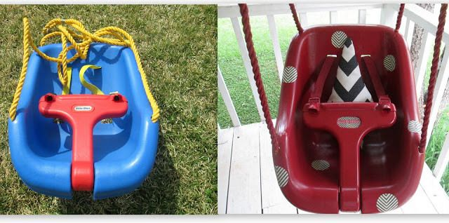 Swag (Baby) Swing: An Upcycled Plastic Swing