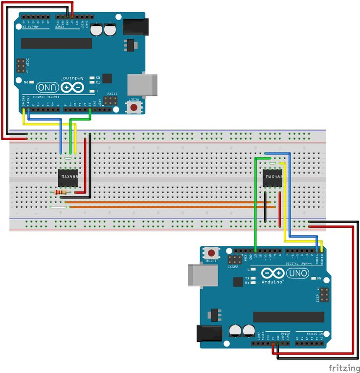 Arduino RS485 communication with each other | Wheat: Baku