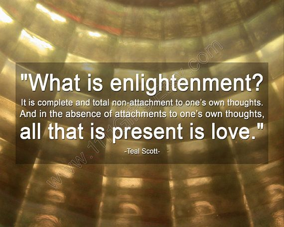 What is Enlightenment? * Inspirational Teal Swan Quote * Love, New Age, Law of Attraction