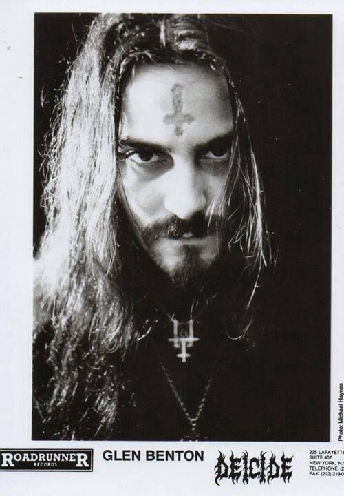 Deicide - Glen Benton | Metal | Photography | Pinterest ...