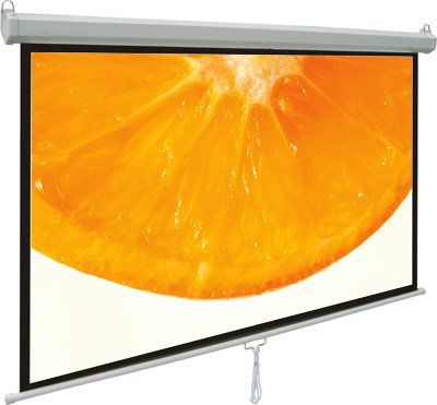 "VIVO 100"" Projector Screen, 100 inch Diagonal 16:9 Projection HD Manual Pull Down Home Theater VIVO (PS-M-100) Vivo"