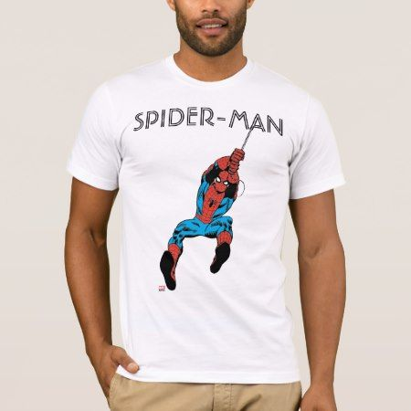 Spider-Man Retro Web Swing T-Shirt - tap to personalize and get yours