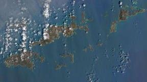 Britské panenské ostrovy po přechodu Hurikánu Irma