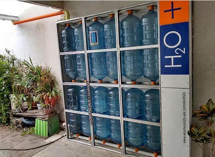 Las 25 mejores ideas sobre colector de lluvia en pinterest for Estanques para almacenar agua potable