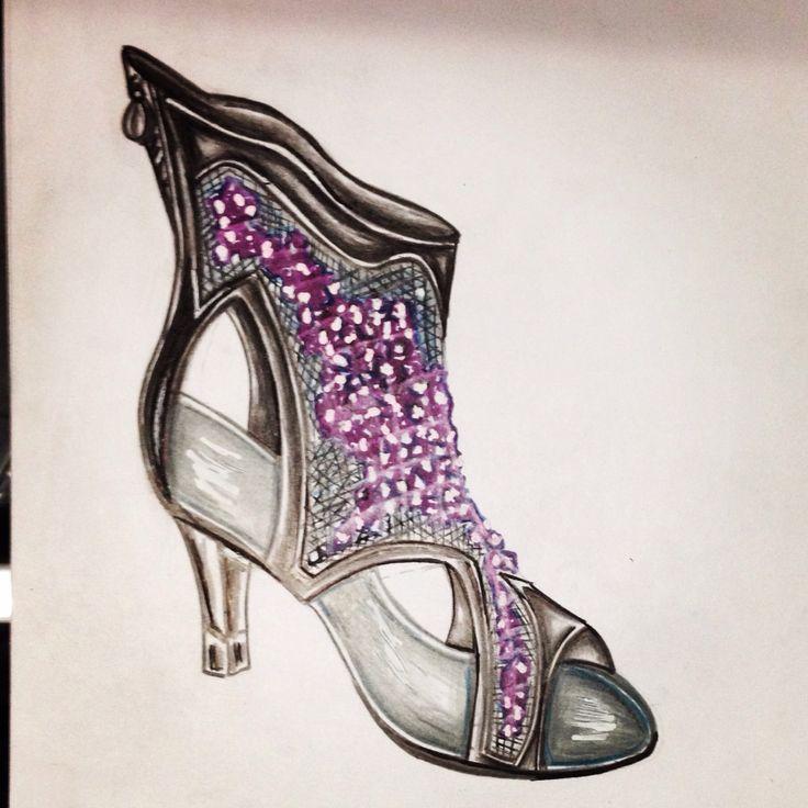 Dibujo zapato