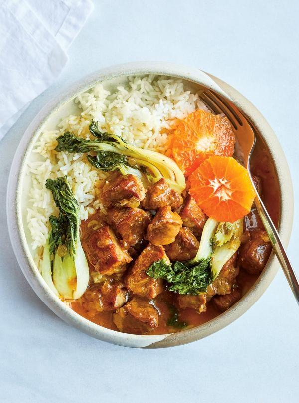 L'échine est l'une des coupes du porc parmi les plus économiques, ce qui nous permet d'obtenir un repas savoureux à 4 $ la portion.