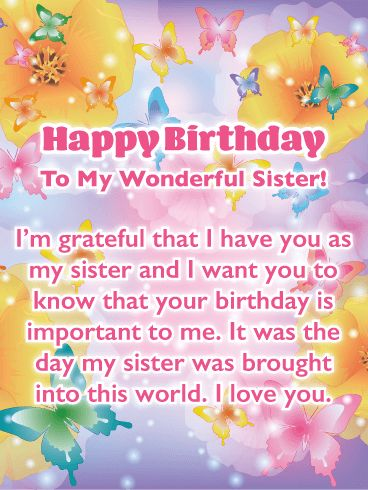 Beautiful Butterflies – Birthday Card fo…