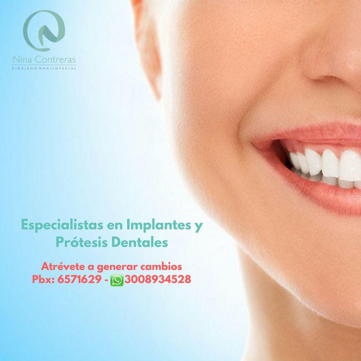 !Recupera tu sonrisa¡ Atrévete a generar cambios y déjanos conocer tu caso. Pbx: 6571629 - WhatsApp: 3008934528 http://ninacontrerascmf.com/