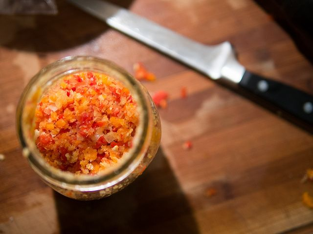 Chili Salt (Updated Instructions on how to Make it) - WellPreserved.ca