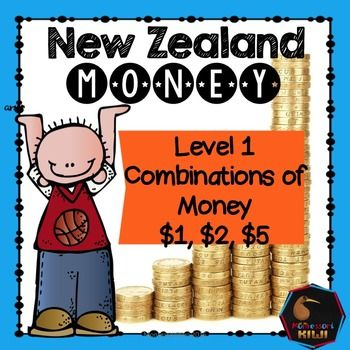 An activity designed to help students see combinations of how amounts are made using New Zealand coins and notes. This work can be completed as an independent activity, you may also laminate it and it can be on your maths shelf!Designed for readers at Gold +.