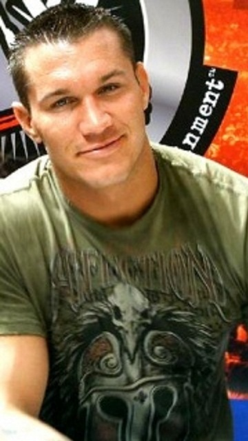 Randy Orton,....another reason I like to watch wrestling!