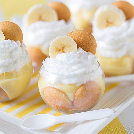 Whip up these mini banana pudding parfaits for the ultimate itty bitty Southern dessert!