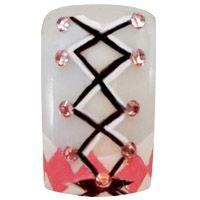 Dirndl nails, bavarian style