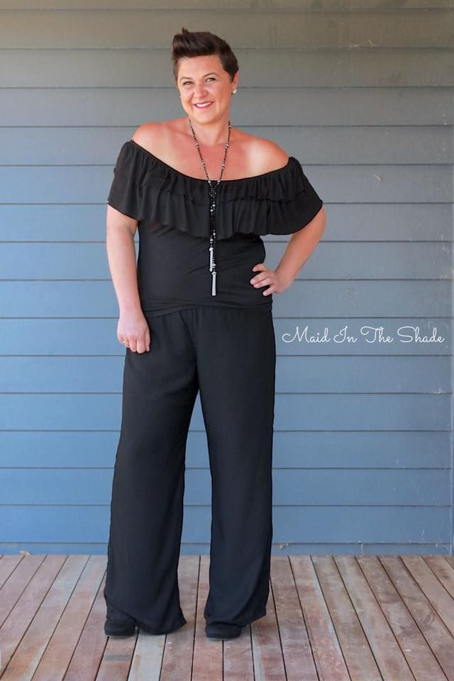 Pattern Emporium Ladies Wide Leg Pants sewing pattern. http://www.patternemporium.com/product/ladies-coco-wide-leg-pants