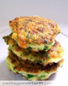 Fırında Ispanak Mücver resimli yemek tarifi, Çorbalar, Mezeler tarifleri