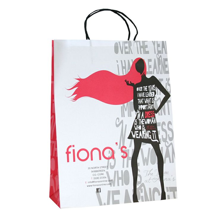 Fiona's Boutique #Branded #Packaging