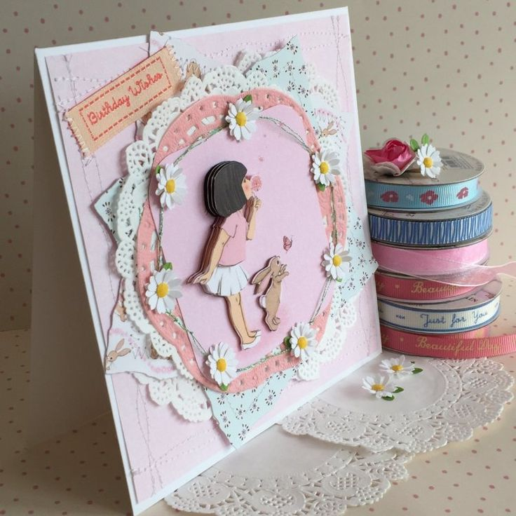 Belle and Boo Birthday Wishes Card by design team member Angie