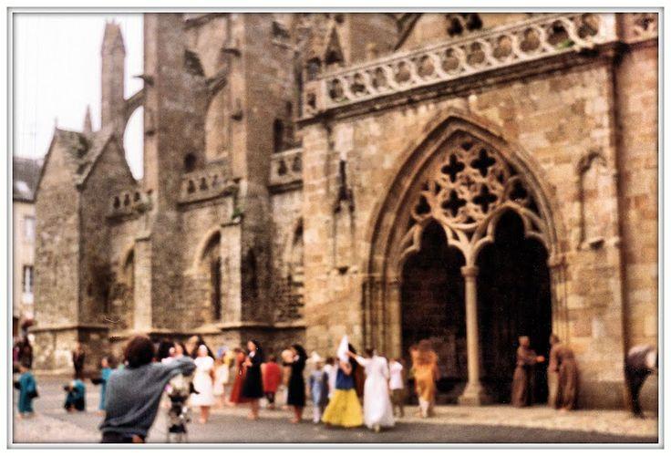 TREGUIER - Cattedrale di Saint-Tugdual, Bretagna, 1992