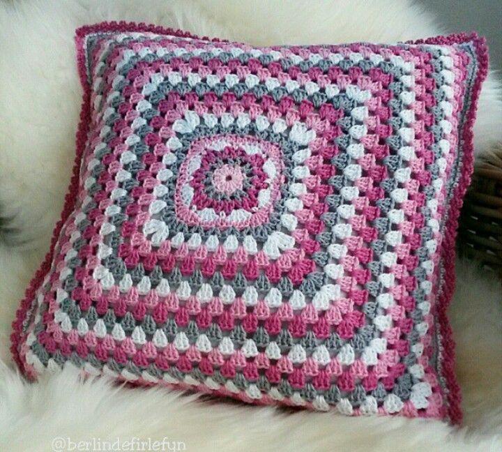 726 best Almofadas de crochê images on Pinterest | Almohada de ...