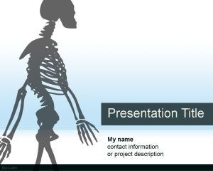 Anatomy PowerPoint Template PPT Template