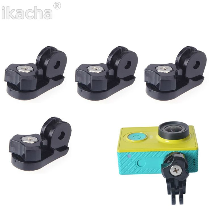 >> Click to Buy << 10pcs Action Camera Gopro Accessories Conversion Block Head Connection For Sony AS200v Xiaomi Yi SJ4000 SJ 5000 Go Pro Cam #Affiliate