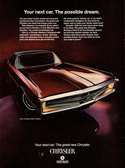 1969 Chrysler Three Hundred 2-Door Hardtop