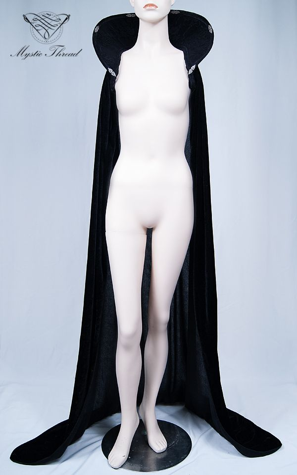 Black velvet vimpire cloak by Mystic Thread  / e-shop: www.mysticthread.com / facebook: www.facebook.com/mysticthread.ltd / Photo by Undefiled Photography & Editing #blackcloak #blackcape #velvetcape #velvetcloak #vimpirecloak #vimpirecape #vimpirecollar #vimpirecloak #costumepieces #vimpirecollar #gothiccollar