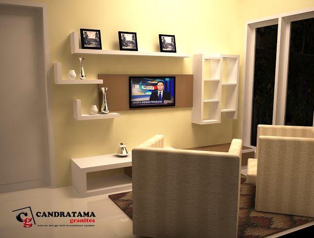 interior kediri - interior jombang -interior blitar -interior nganjuk - interior tulungagung -interior trenggalek - backdrop tv - ruang keluarga - minimalis - modern