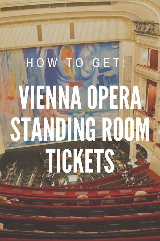 Vienna Opera Tickets Guide to Standing Room Tickets. Cheap Opera Tickets Vienna. I love Vienna. I live for Vienna - I think everybody should visit and enjoy all its imperial splendour so here is my Top Ten Things to Do in Vienna! Vienna Austria travel things to do. Viennese Opera, Sacher Torte, Coffee houses, Musuems, Castles and UNESO World Heritage. Vienna Opera House and Vienna Hotels Enjoy!  ☆☆  Austria / Vienna Travel Guide / Bucket List Ideas Before I Die By #Inspiredbymaps ☆☆