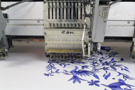 Custhom launch new digitally embroidered wallpaper