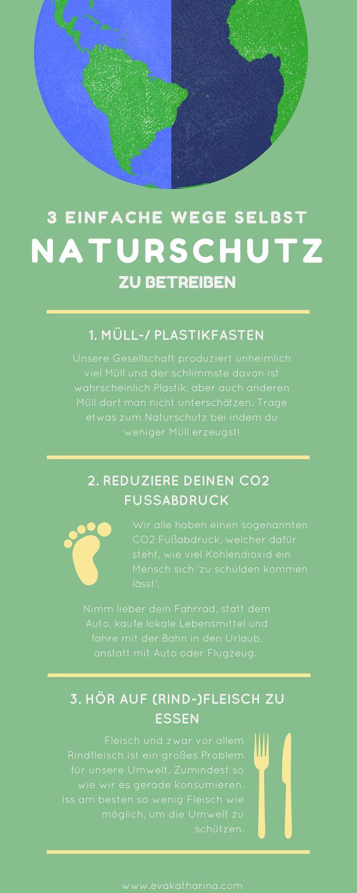 3 einfache Wege, selbst Naturschutz zu betreiben