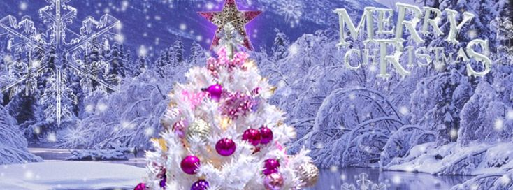 Merry Christmas Facebook Cover - Facebook timeline covers maker