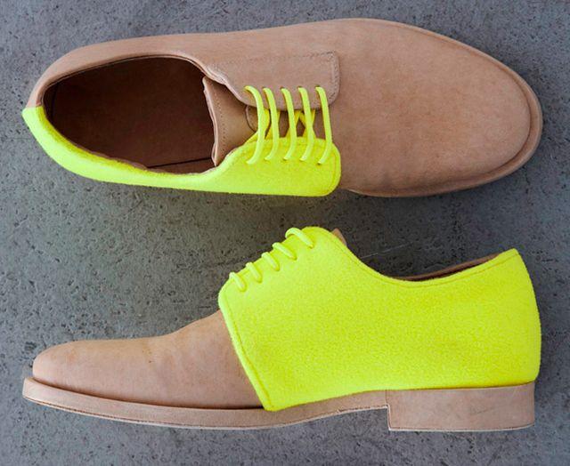 Neon Shoes. FabuLUX