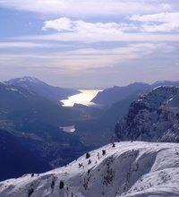 Lago di garda dalla Paganella