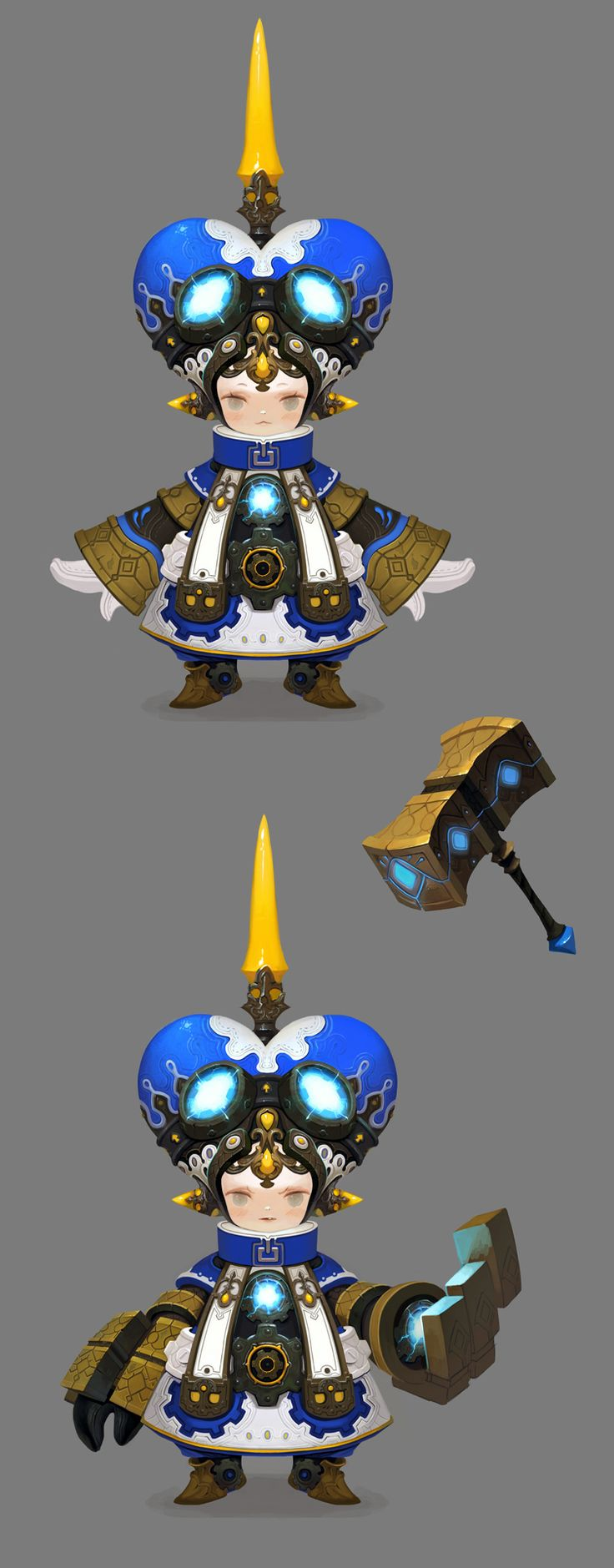 Like this Character design
