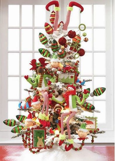 Elf Christmas Tree: