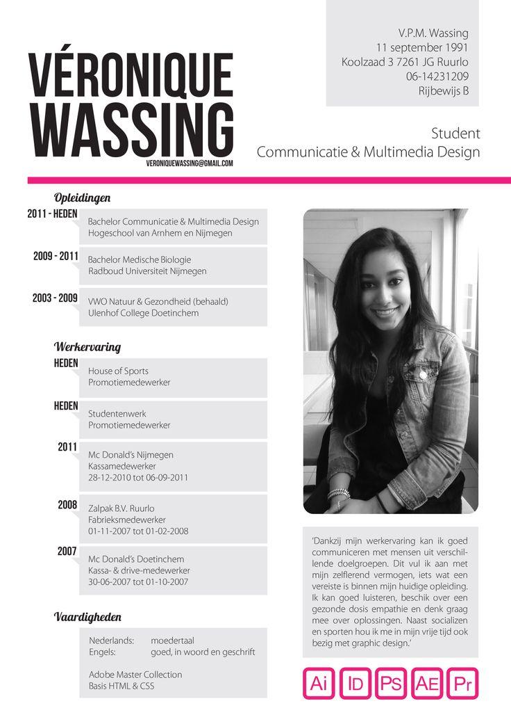 Curriculum Vitae design | cv | Pinterest