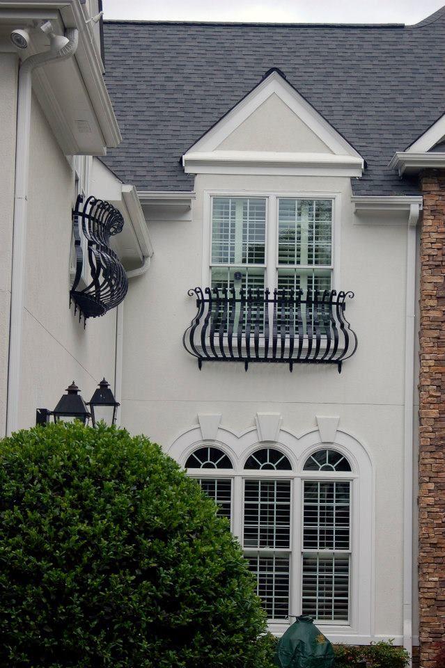 Custom Iron window grille by St.Udio http://saintudio.us/
