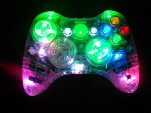 I found 'Color Changing Xbox 360 Controller' on Wish, check it out!