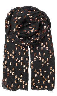 Becksondergaard skull scarf http://www.gemini-woman.co.uk/item/BeckSondergaard/N-Skulls/9VGV
