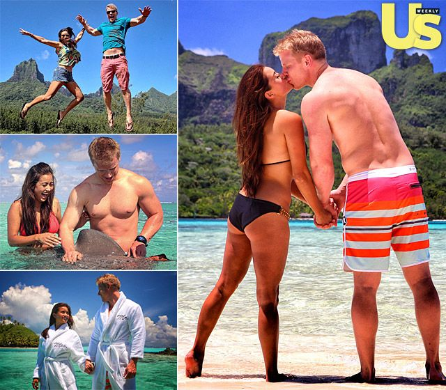 Let's have a morning 'awwwwwww' moment! Sean and Catherine's Exclusive Honeymoon Photos!