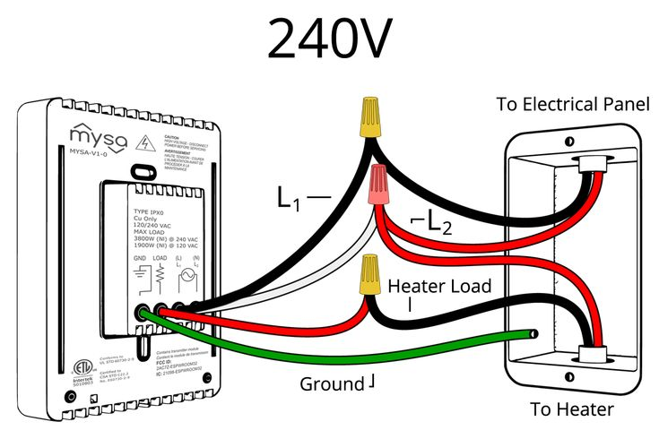 15 Simple Wiring Diagram For 220 Volt Baseboard Heater In