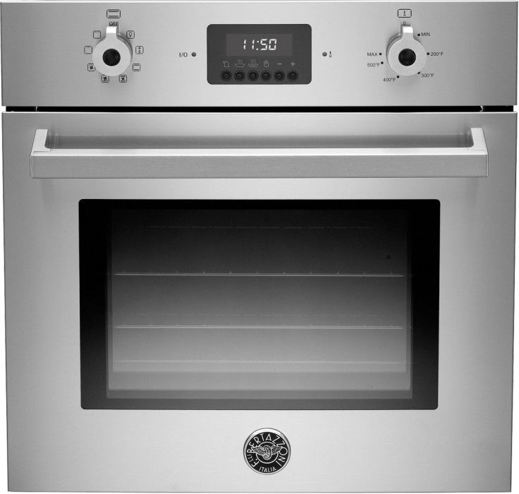 bertazzoni f24proxv 24 inch single electric wall oven with 21 cu ft european convection