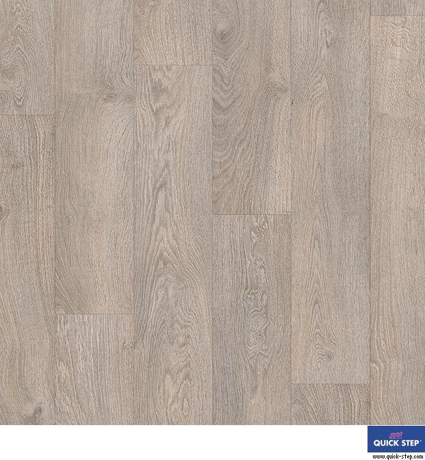 #Tarimas #laminadas de color #gris | #Roble viejo gris claro, de la colección #Classic de #QuickStep
