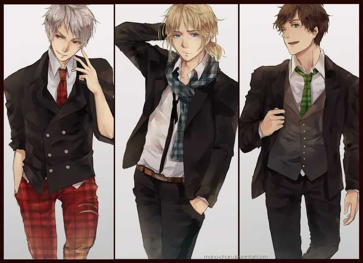 :APH: Bad Touch Trio by Mano-chan.deviantart.com on @deviantART
